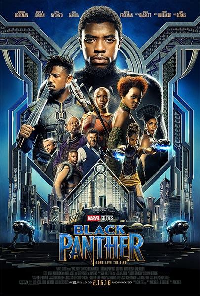 Pantera negra (HD 1080P y Español- Inglés 2018) poster box code