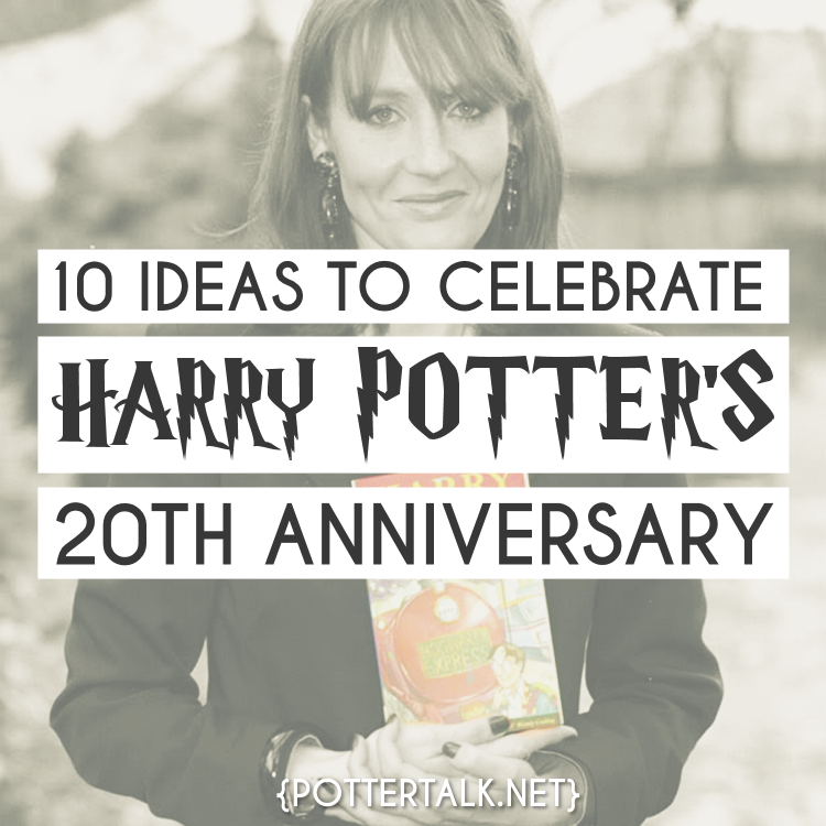 10 Ideas to Celebrate Harry Potter's Birthday