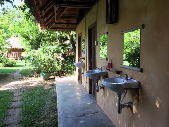 Angkor Zen Yoga Retreat Bathrooms