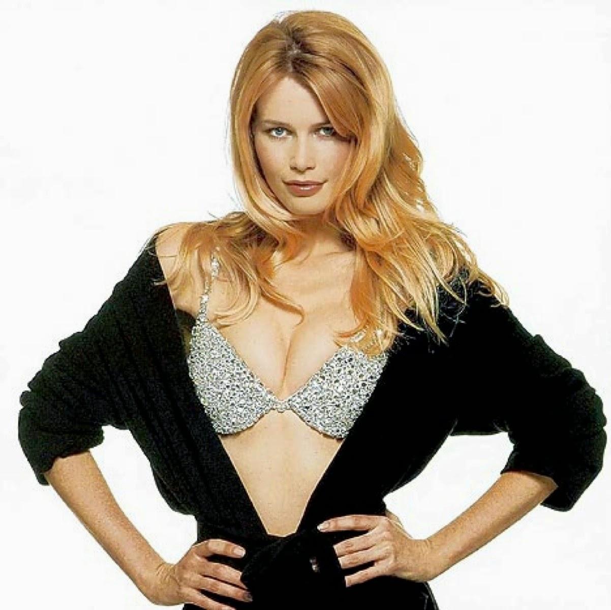 Claudia Schiffer - Million Dollar Miracle Bra (1996)