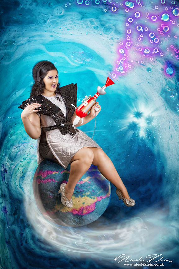 Lush Intergalactic Photoshoot with The Hourglass
