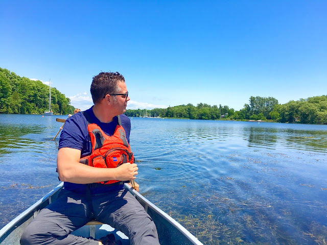Wine and Paddle with Cruising Canoes
