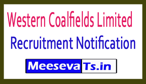 Western Coalfields Limited  WCL Recruitment