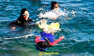 snorkeling pulau pari