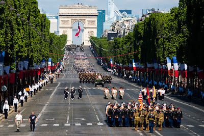 INTERNATIONAL:  FRANCE:  Bastille Day July 14 2018 Saturday QUICK LINK
