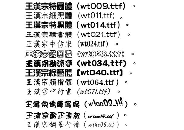 Web programming 的 研究筆記: 中文字形的下載