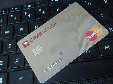 Cara Registrasi Kartu Kredit CIMB di CIMB Clicks Internet Banking