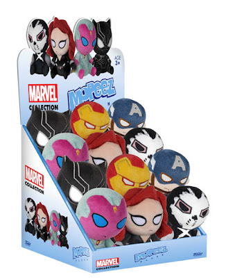 Captain America: Civil War Mopeez Plush Series by Funko - Captain America, Iron Man, Black Panther, Black Widow, The Vision & Crossbones