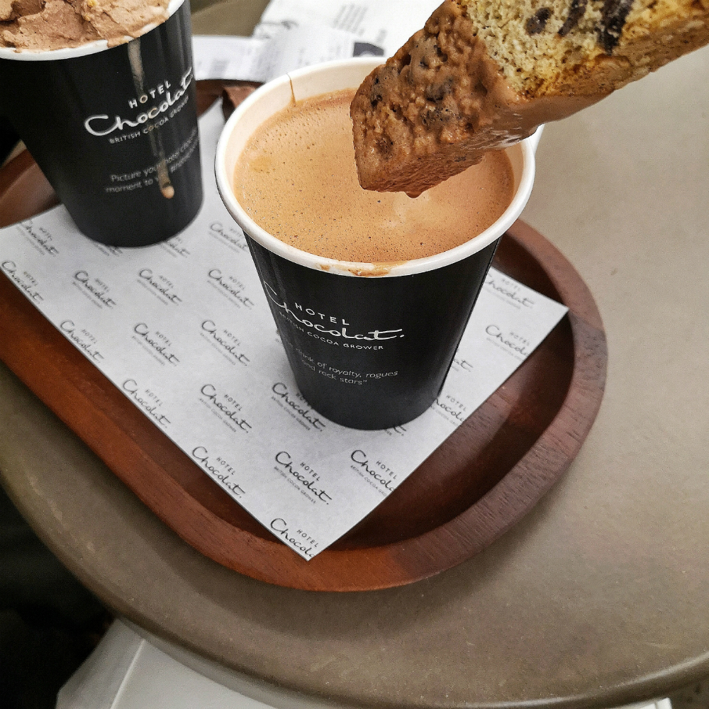 Hotel chocolat covent garden cafe review