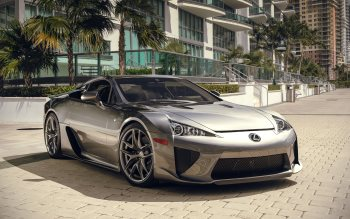 Wallpaper: Lexus LFA. Super Car 4K