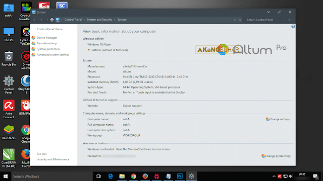 Download Windows 10 Altum Pro Pre-Activated