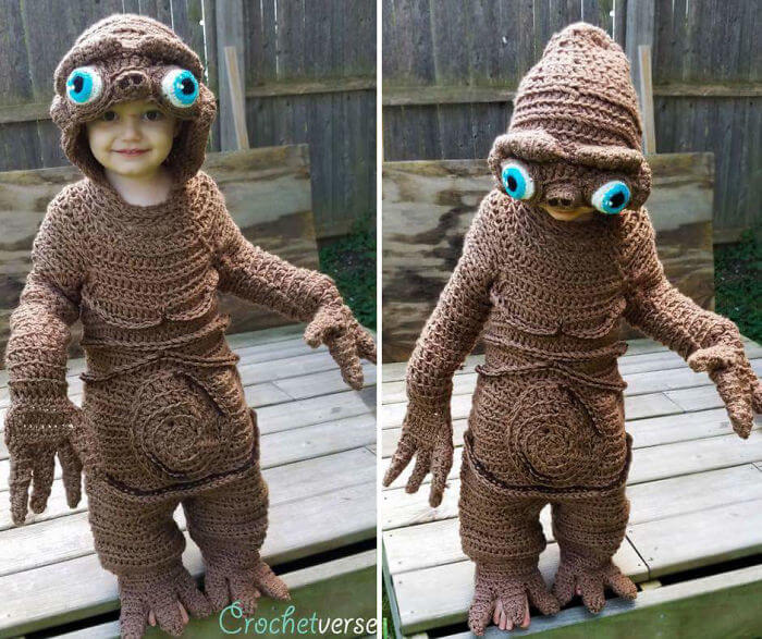 10 Unique Halloween Costumes Made By A Mother For Her Kids