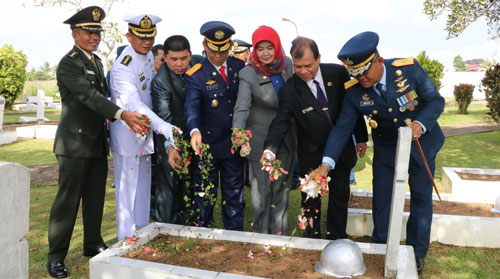 Sumber Foto dari Kepala Penerangan Pangkalan TNI AU Supadio