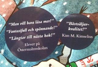 Skrivarbloggen Kim M. Kimselius  Vet du vad en Blurb är  50fa7aae47b6b