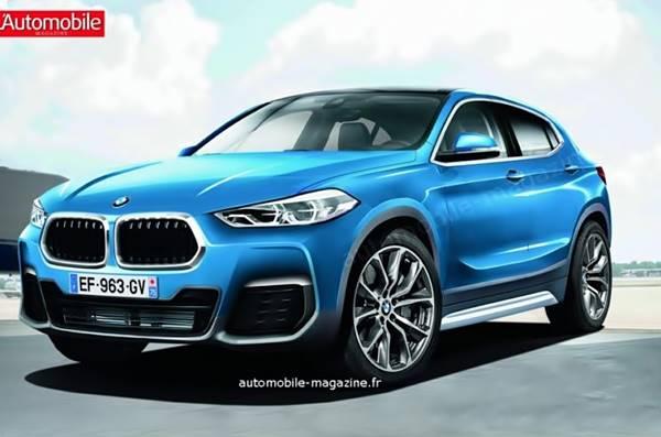2018 BMW X2 Renderings