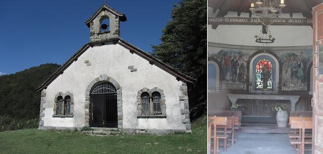 Ermita de Nuestra Señora de las Nieves - Casas de Irati - Sendero de los Sentidos - Navarra