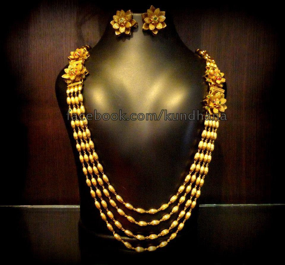 One Gram Gold Long Chain - Jewellery Designs