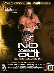 WWE / WWF No Way Out 2000 - Event poster