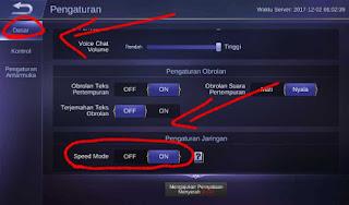 Tips Mengatasi Lag Saat Bermain Mobile Legend Sinyal 3G/H+