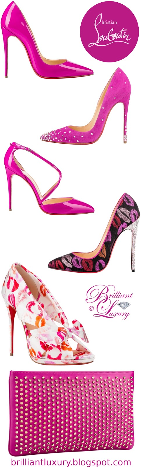 Brilliant Luxury ♦ Christian Louboutin Magenta Edition