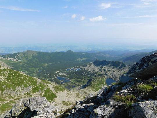 Widok na Dolinę Zieloną Gąsienicową.