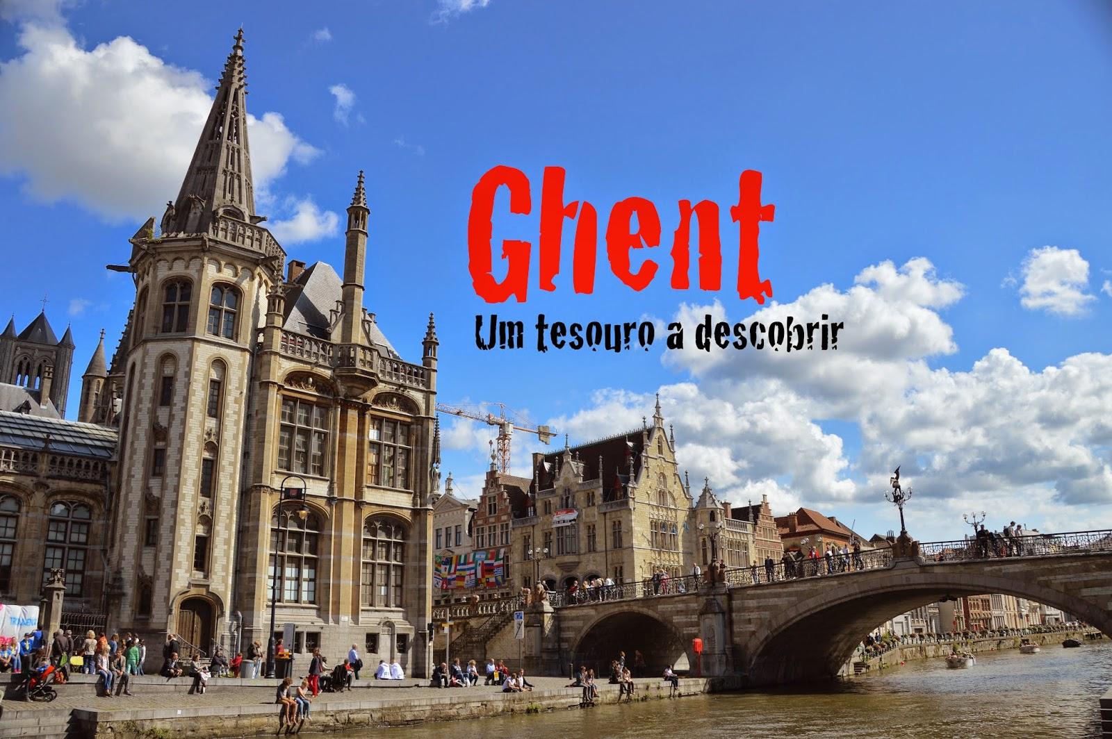 O que visitar em Gent/Ghent, Bélgica.