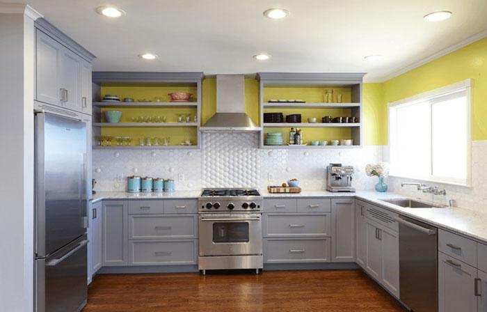 açık mutfak dolabı modelleri