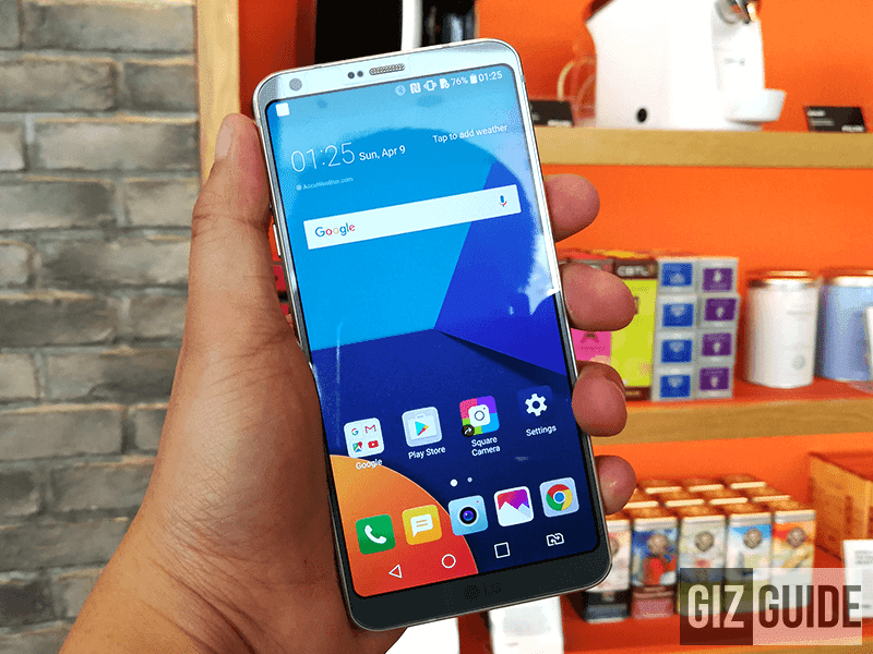 LG G6 Now Available At Globe's Plan 1499