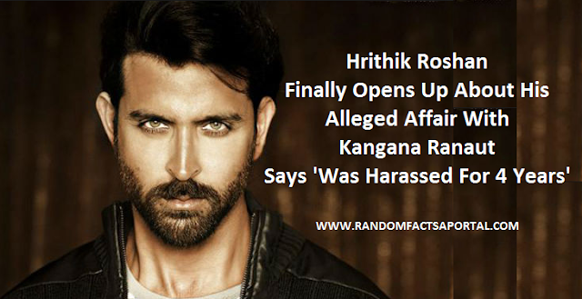 Hrithik Roshan Finally Opens Up About His Alleged Affair With Kangana Ranaut, Says 'Was Harassed For 4 Years'