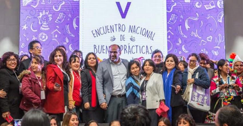 MINEDU: Encuentro nacional reunió a 143 ganadores del concurso Buenas Prácticas Docentes 2017 - www.minedu.gob.pe