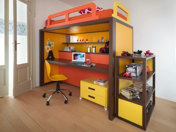 Creative Kids Study Desk   Several Shelves And Perfect Lighting
