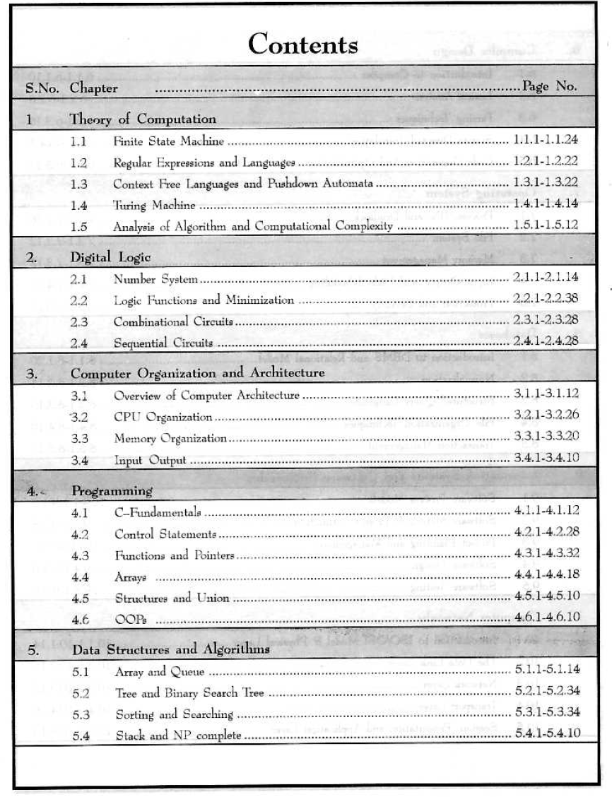 Gate Reference Books For Cse Pdf