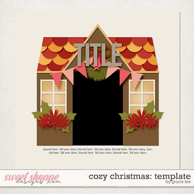 Freebie: Cozy Christmas Template