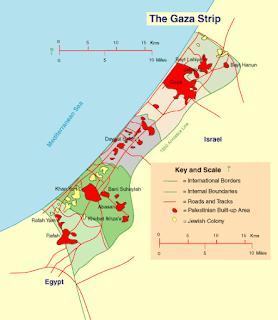 Israel-Gaza borders