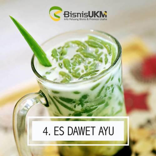 es dawet ayu -prospek bisnis minuman laris Manis Bulan Ramadhan!