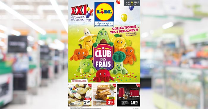 Catalogue Lidl Du 26 Septembre Au 2 Octobre 2018
