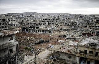 Akibat Perang di Suriah