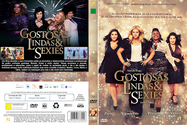 Capa DVD Gostosas, Lindas & Sexies [Custom]
