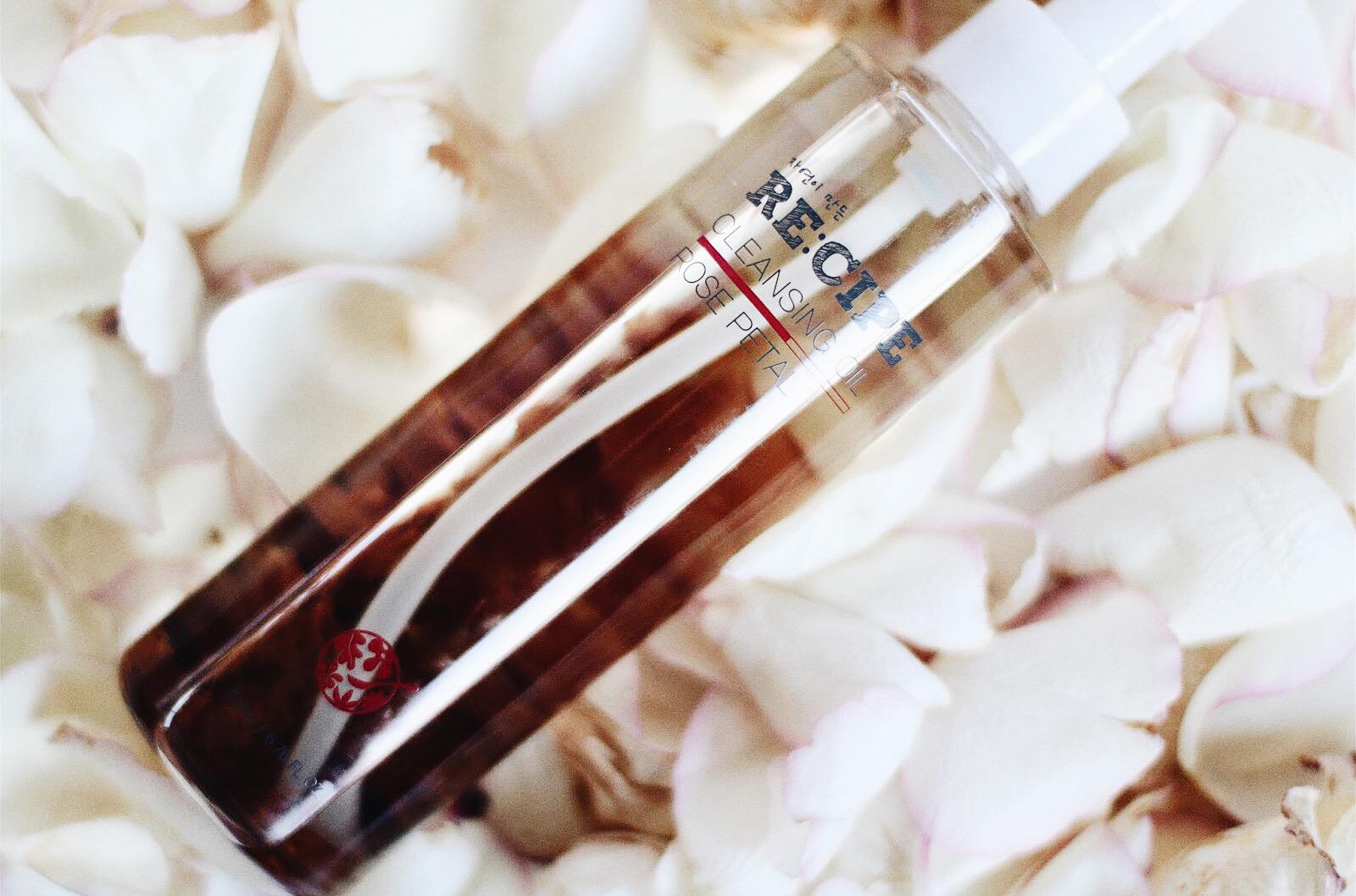 re : cipe huile démaquillante aux pétales de rose avis test
