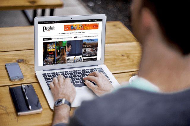 dunia blogging membangun barnding dan katak kunci