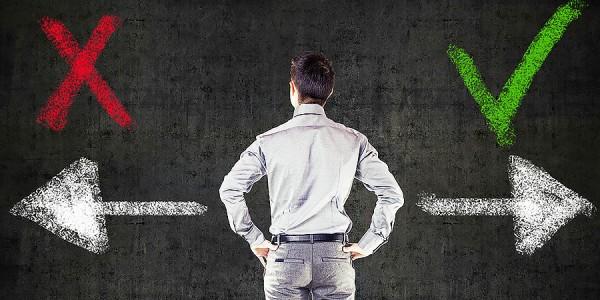 كيف تتخذ القرار الصحيح