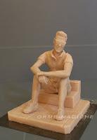 statuette personalizzate modellini da colorare scultura torta ragazzo fidanzato orme magiche