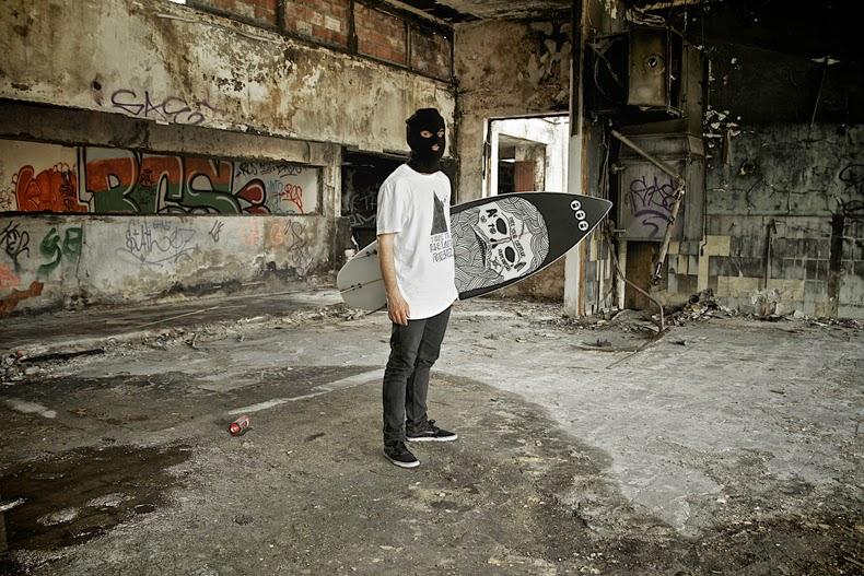 Mattia Fogliani, zombie surf culture