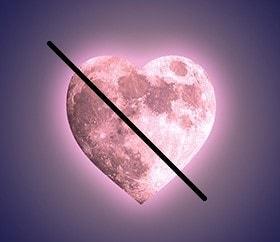 La lune et l'amour