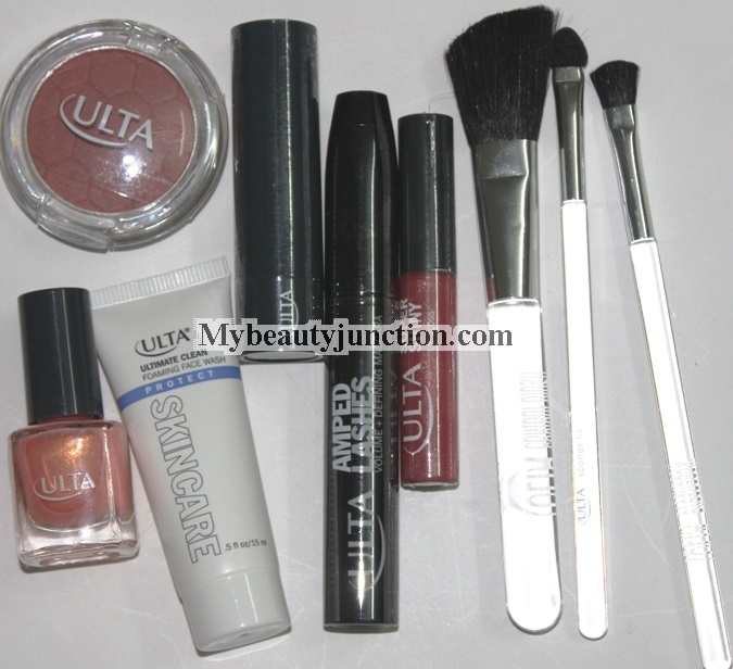 Ulta 10-piece Here Comes The Sun makeup set contents and review