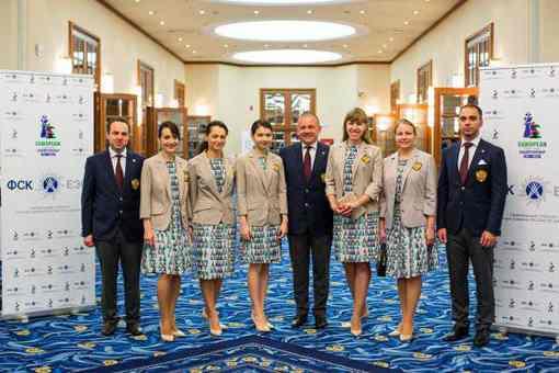 L'équipe féminine d'échecs de Russie emmenée par Alexandra Kosteniuk - Photo © ruchess.ru