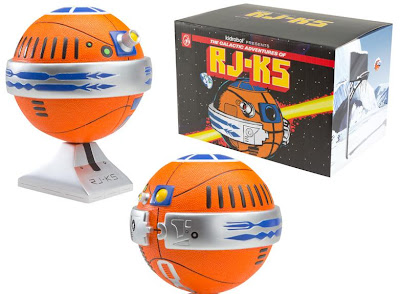 RJ-K5 Astrofresh Basketball Droyds by JK5 - Galactic Game Ball Colorway