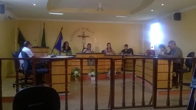 Legislativo: 5ª Sessão da Câmara  municipal, vota e aprova projeto com a nomeação da areninha - Raimundo Rodrigues Bastos.