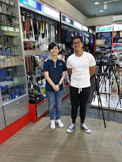 Kaesang Pangarep foto bersama karyawan Focus Nusatara