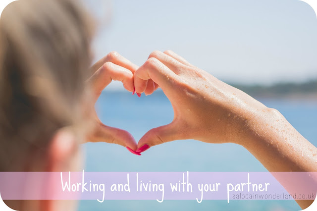 working and living with your partner